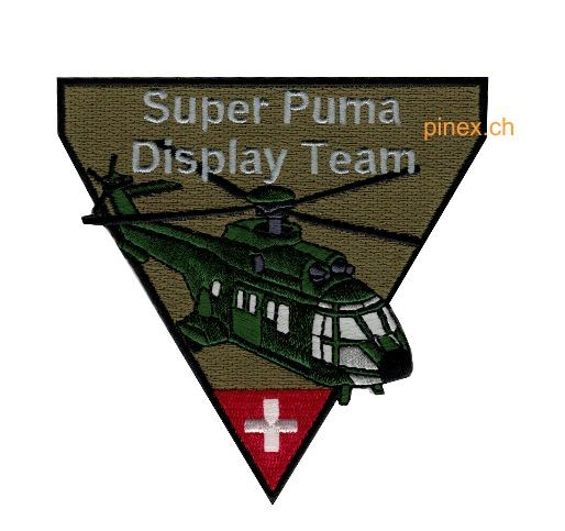 Picture of Super Puma Display Team Insignia Patch Triangle
