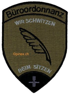 Picture of Büroordonnanz Badge Tarn