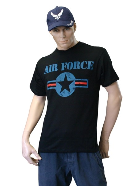Picture of US Air Force T-Shirt schwarz