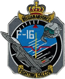 Photo de Belgische Luftwaffe Patch F-16 Fighting Falcon Abzeichen