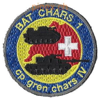 Picture of Bat Chars 1, cp gren chars 4 Badge