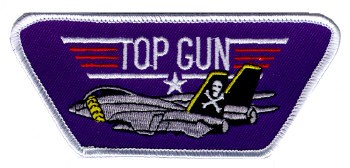Photo de Top Gun Wappen Flz / Schrift  120mm
