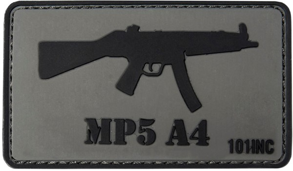 Photo de MP5 A4 PVC Rubber Patch