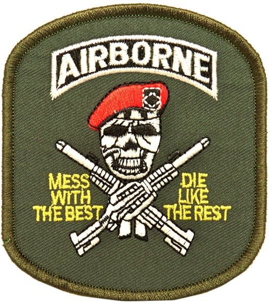 Photo de Airborne Patch Red Beret Abzeichen