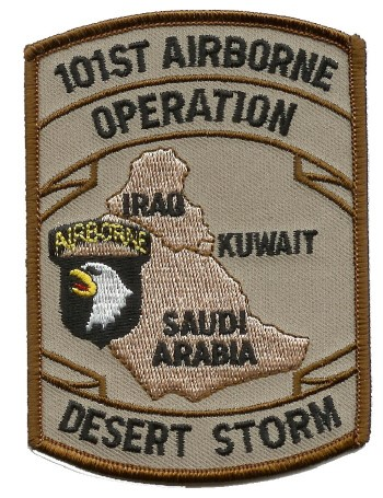 Photo de 101st Airborne Desert Storm Patch Aufnäher