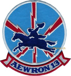 Photo de Aewron 13 Patch Aviation Air Borne Early Warning Squadron Abzeichen