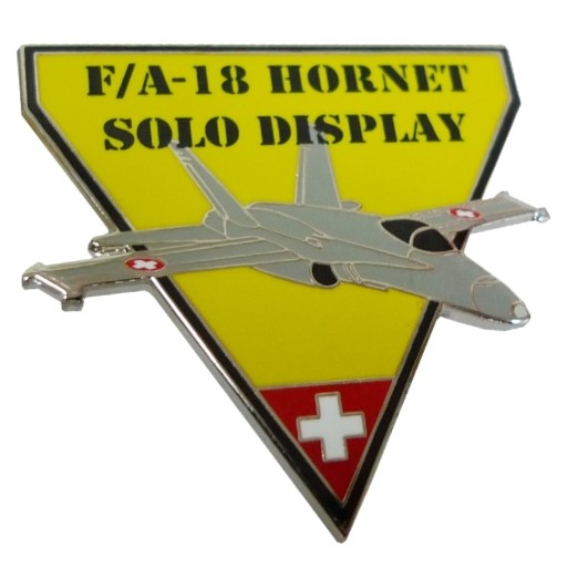 Photo de F/A-18 Hornet Solo Display Pin