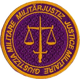 Photo de Justice Militaire, Militärjustiz Badge Armee 95