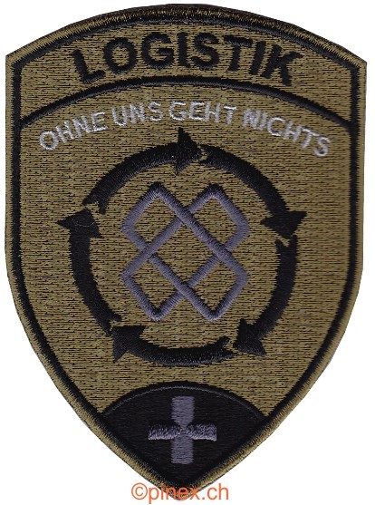 Picture of Logistik Badge tarnfarben