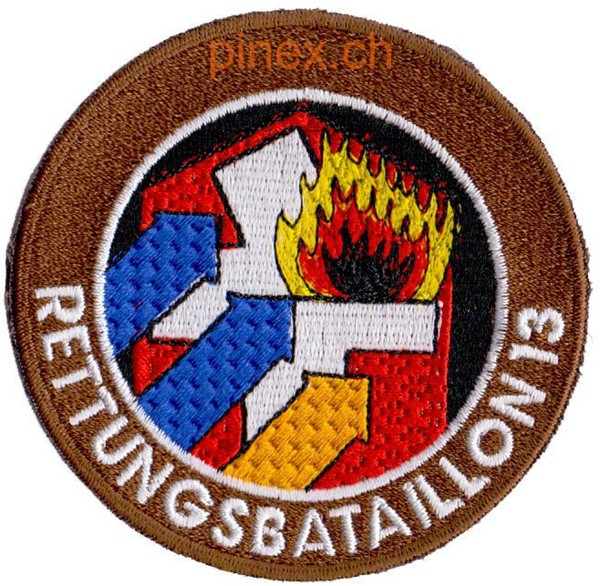 Photo de Rettungsbataillon 13 braun Armeebadge