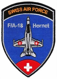 Picture of F/A-18 Hornet Pilot Patch Wappen 93mm