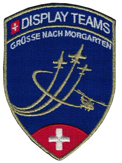 Photo de Morgarten Display Teams Patch blau