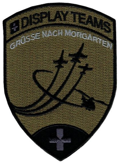 Bild von Morgarten Display Teams Patch tarn