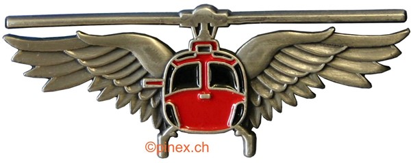 Picture of Swiss Helikopter Pilot-Wings Pin small