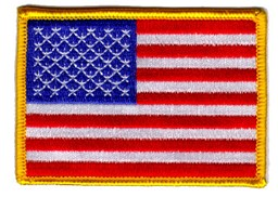 Bild von USA Flagge Stars and Stripes  78mm