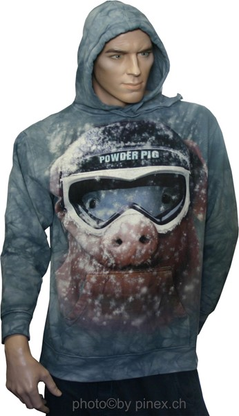 Photo de Powder Pig Snowboard Hoodie