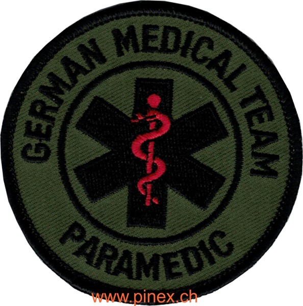 Bild von German Medical Team Paramedic tarn