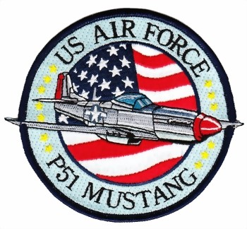 Photo de Badge Mustang P51 Patch