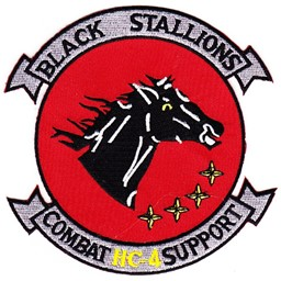 Photo de HC-4 Combat Support Helicopter Patch Black Stallions