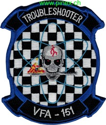 Picture of VFA-151 Troubleshooter Navy Staffel Abzeichen