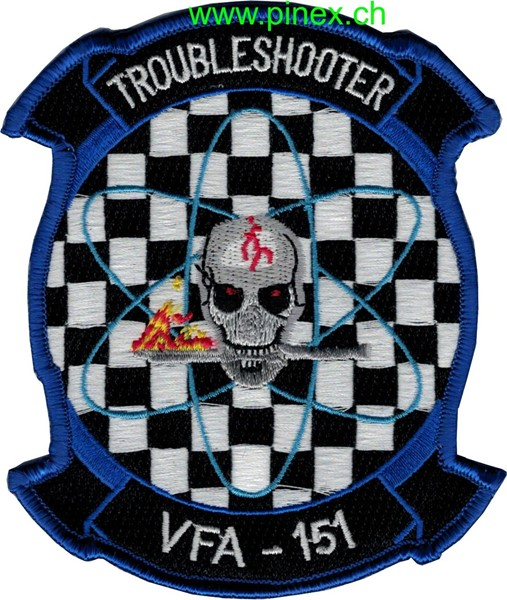 Photo de VFA-151 Troubleshooter Navy Staffel Abzeichen