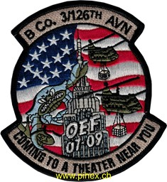 Photo de 3rd Helicopter Squadron Patch 126th Regiment OEF 07-09