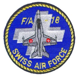 Photo de F/A-18 Hornet Badge Forces aériennes suisses