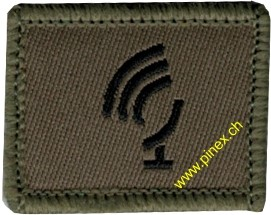 Picture of Radar soldier Swiss Army Function Insignia