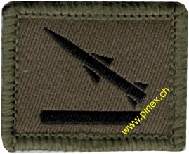 Picture of RAPIER guided missile soldier Swiss Army Fonction Insignia
