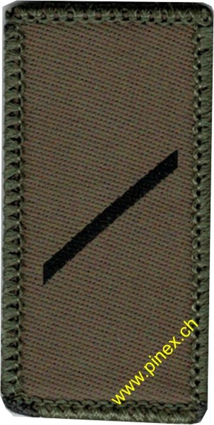 Picture of Private E-1 Swiss Army Rank Insignia