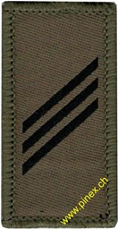 Picture of Private First Class Swiss Army Rank Insignia