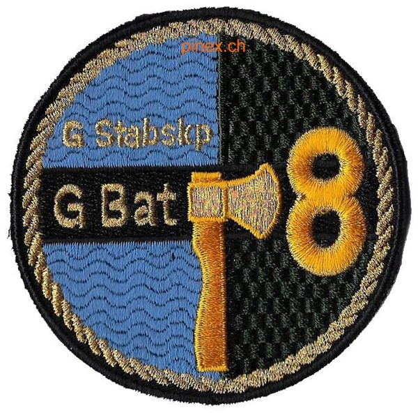Photo de Geniebataillon 8 Stabskompanie Badge