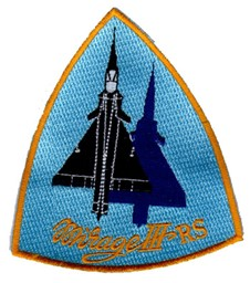 Picture of System patch of the Mirages III RS reconnaissance aircraft