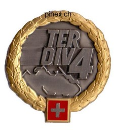 Picture of Territorialdivision 4 GOLD Béret Emblem