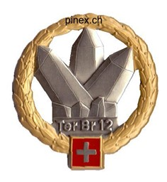Picture of Territorialbrigade 12 GOLD Béret Emblem