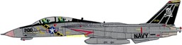 Photo de VF-84 Tomcat F-14a side View Large Patch