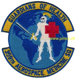 Bild von 359th Aerospace Medicine Squadron US Air Force Abzeichen